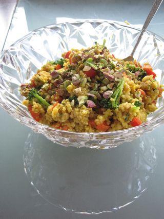 Gluten-free Moroccan Millet Salad